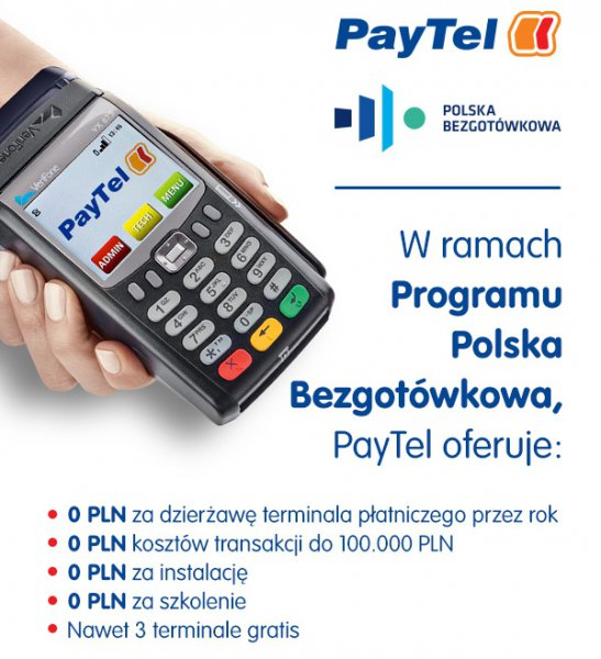 Program Polska Bezgotówkowa Terminal płatniczy za 0 zł